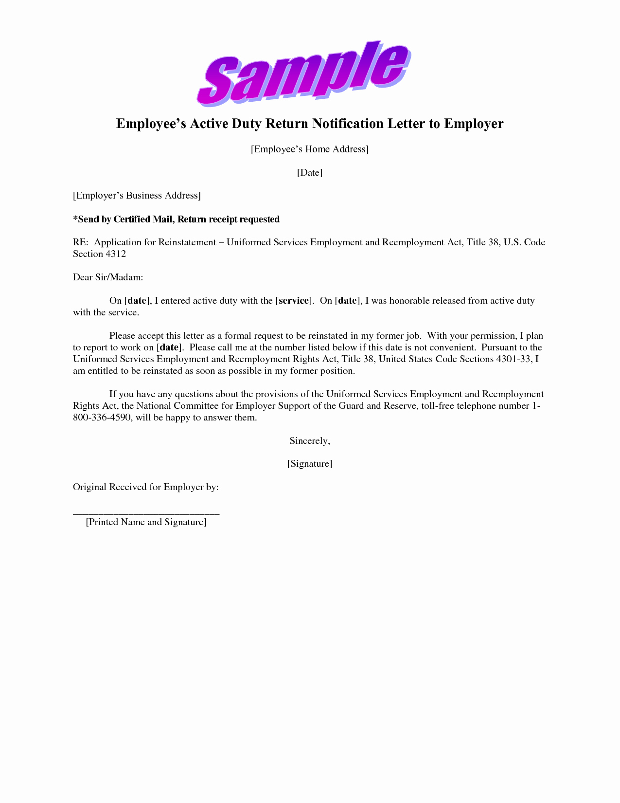 Sample Letter Of Employement Lovely Job Application Letter