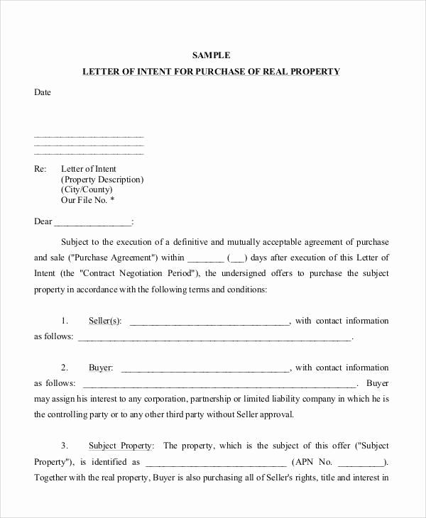 Sample Letter Of Intent Business Elegant 37 Sample Business Letters In Pdf