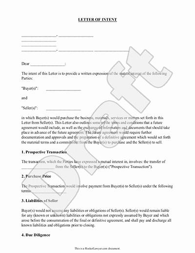 Sample Letter Of Intent Business Elegant Letter Of Intent for Business Purchase Sample Template