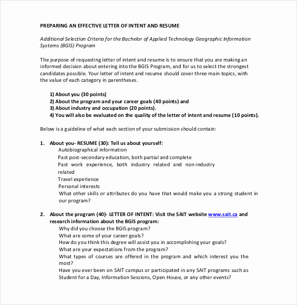 Sample Letter Of Intent Business Fresh 27 Simple Letter Of Intent Templates Pdf Doc