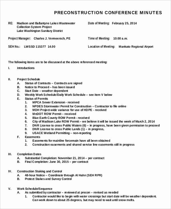 Sample Minutes Of Meetings Luxury Meeting Minutes Templates
