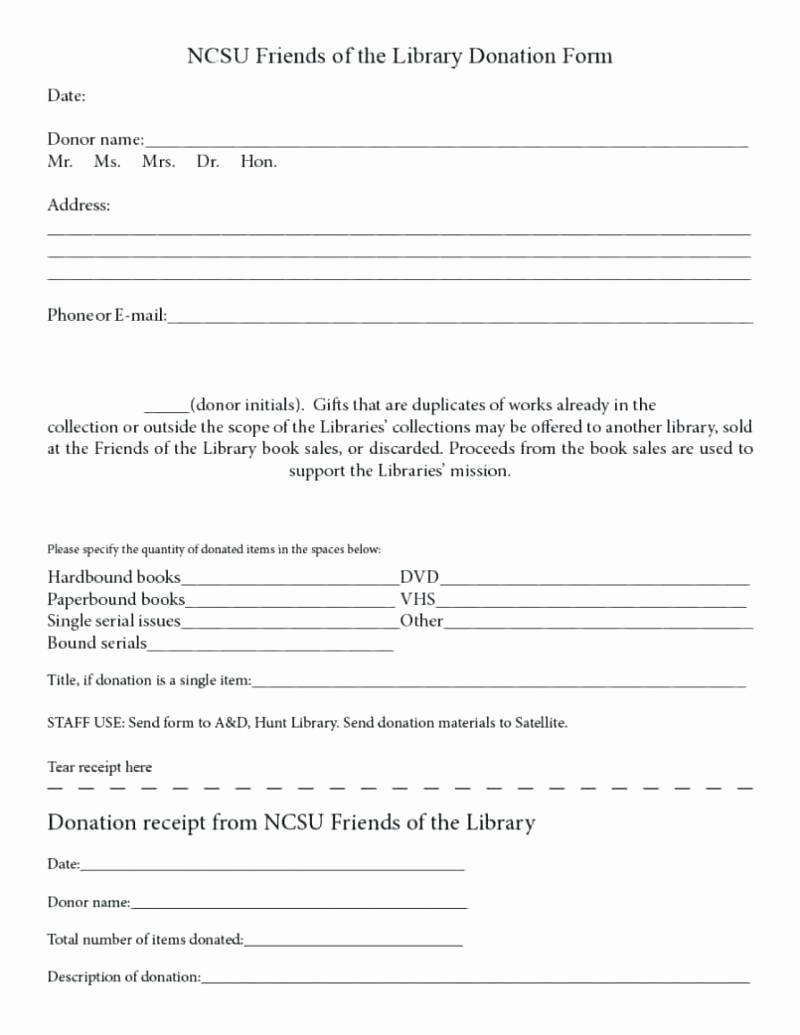 Sample Nonprofit Gift Acknowledgement Letter Elegant Sample Nonprofit Gift In Kind Acknowledgement Letter