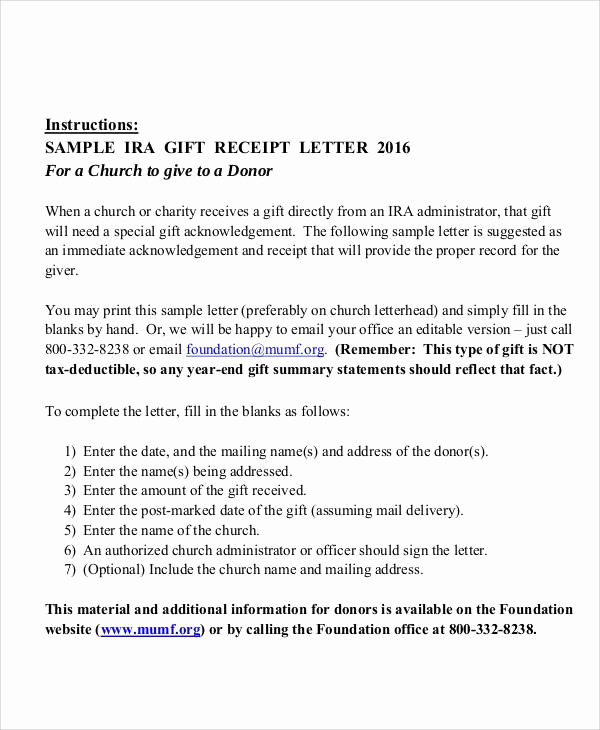 Sample Nonprofit Gift Acknowledgement Letter Lovely Sample Gift Letters 45 Examples In Pdf Word