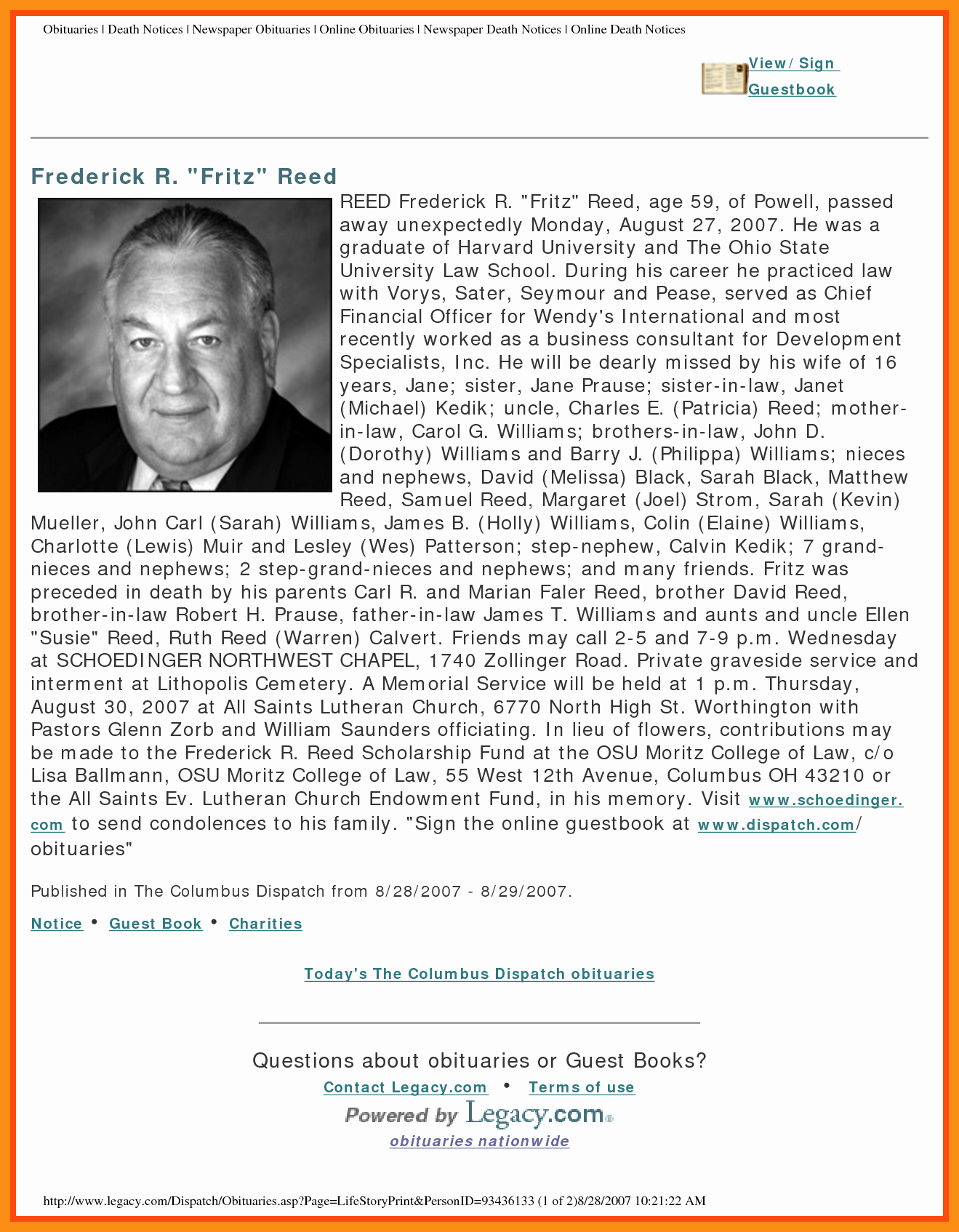 Sample Obituary for Father Best Of Sample Obituaries for Newspaper