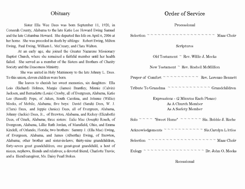 Sample Obituary for Father Luxury where Can You Find An Obituary Template