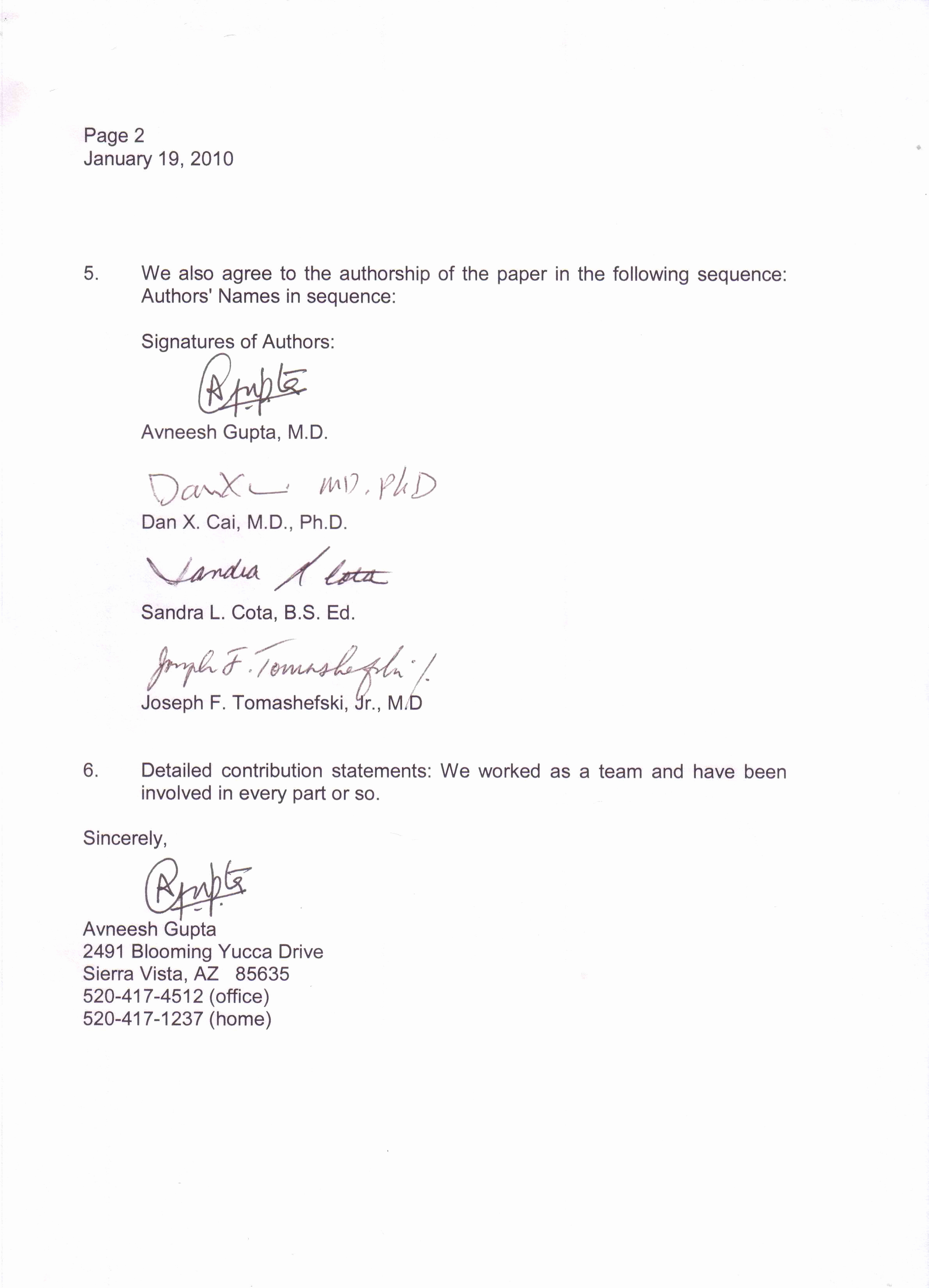 Sample Of Business Leter Best Of Sample Business Letter with Three Signatures