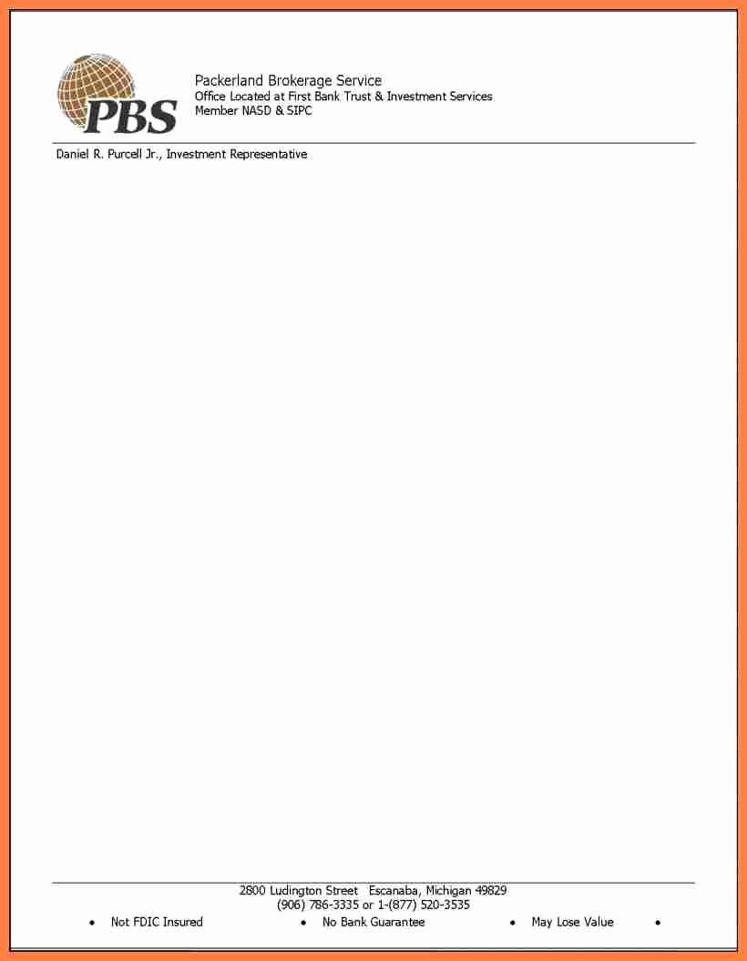 Sample Of Business Letterhead Elegant 10 Printable Letterhead Templates