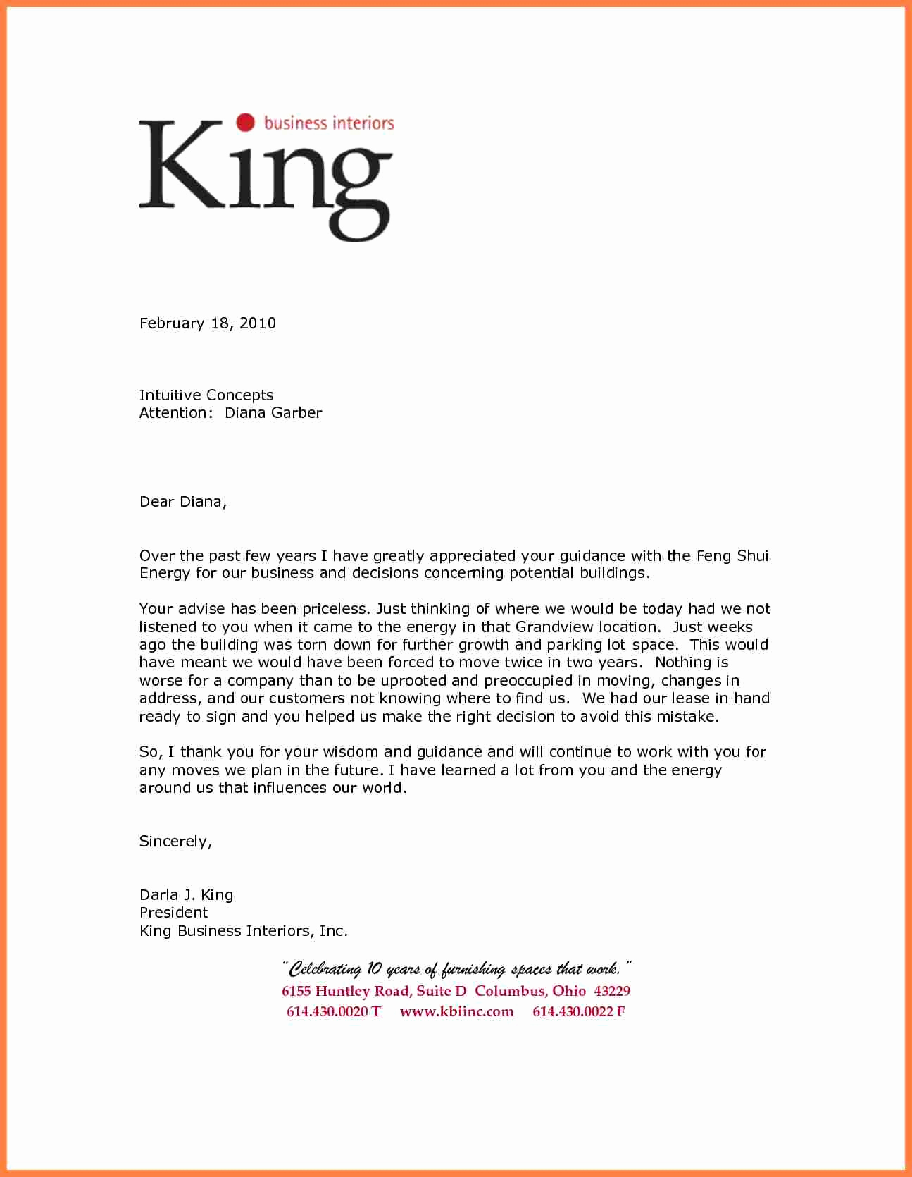 Sample Of Business Letterhead Fresh 7 Re Mendation Letter for A Pany Sample