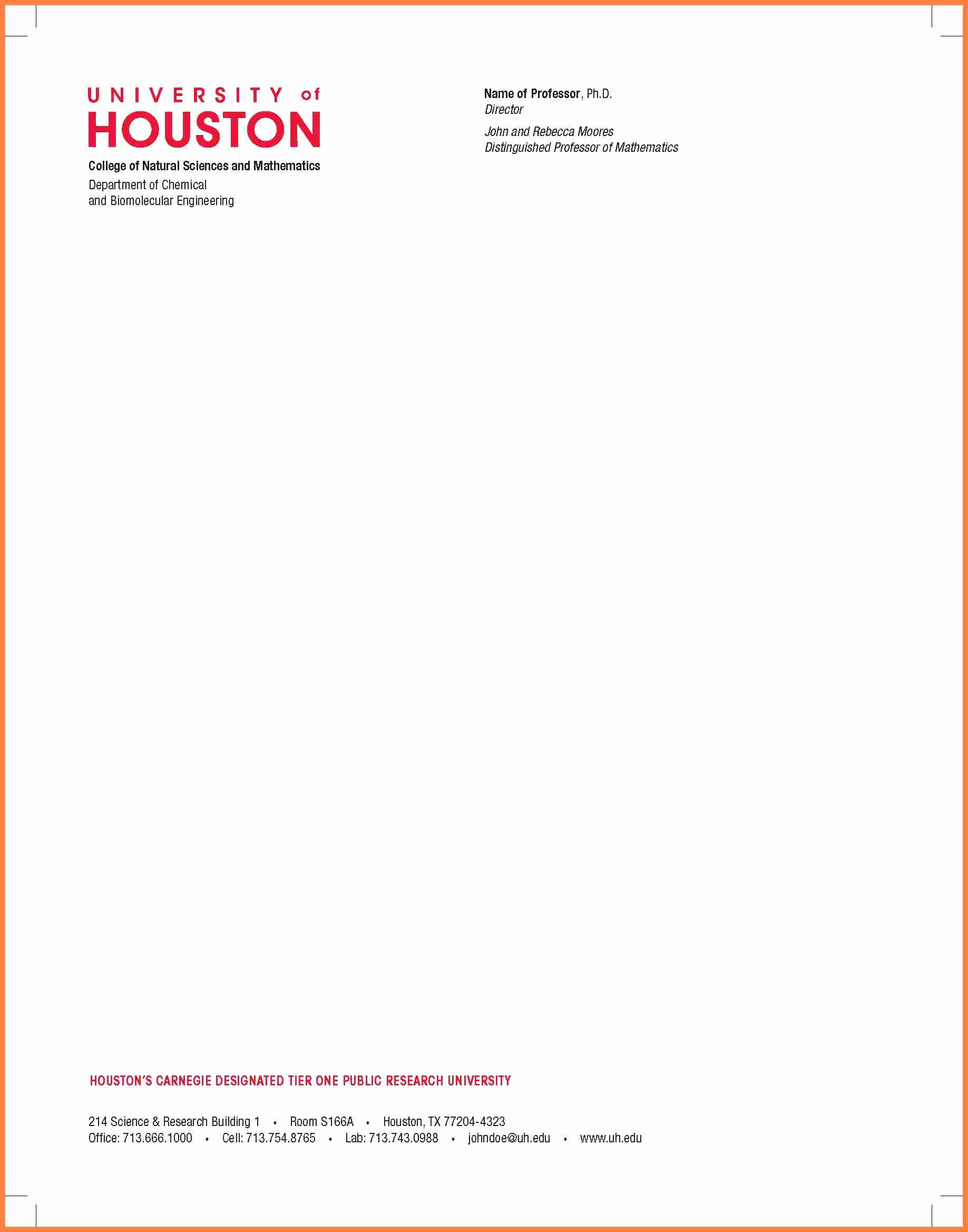 Sample Of Business Letterhead Luxury 5 Pany Headed Letter Template