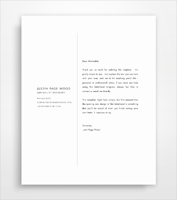 Sample Of Business Letterhead Luxury Sample Business Letterhead Template 23 Download In Psd