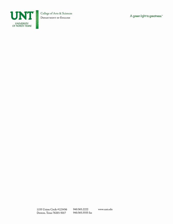 Sample Of Business Letterhead New Stationery