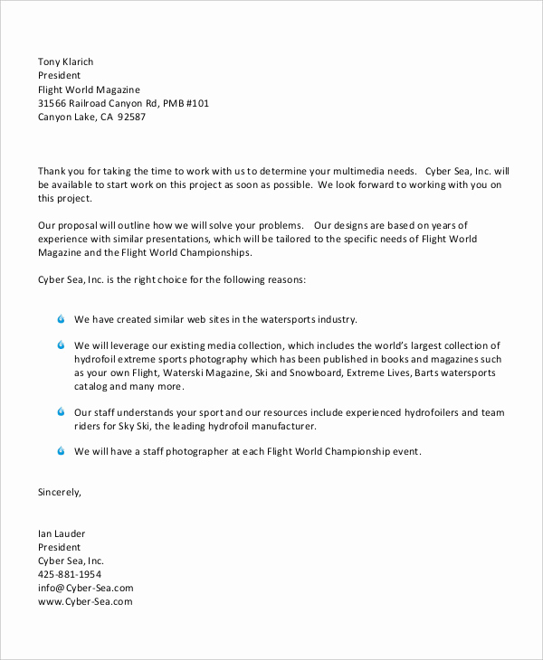 Sample Of Bussiness Letters New 58 Sample Business Letters Doc Pdf