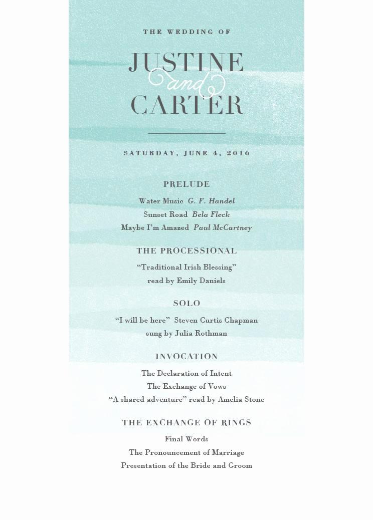 Sample Of Wedding Programme Elegant Wedding Programs Wedding Program Wording