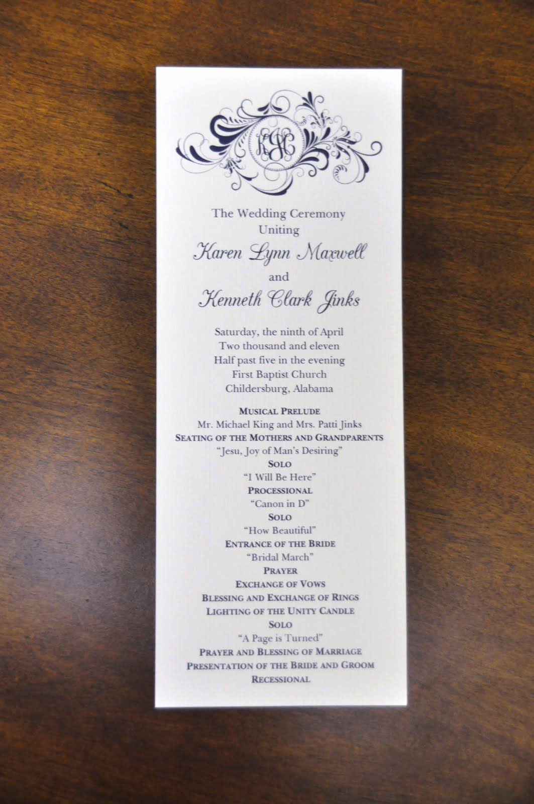 Sample Of Wedding Programs Lovely Sample New Wedding Program Wording Sample Wedding Programs