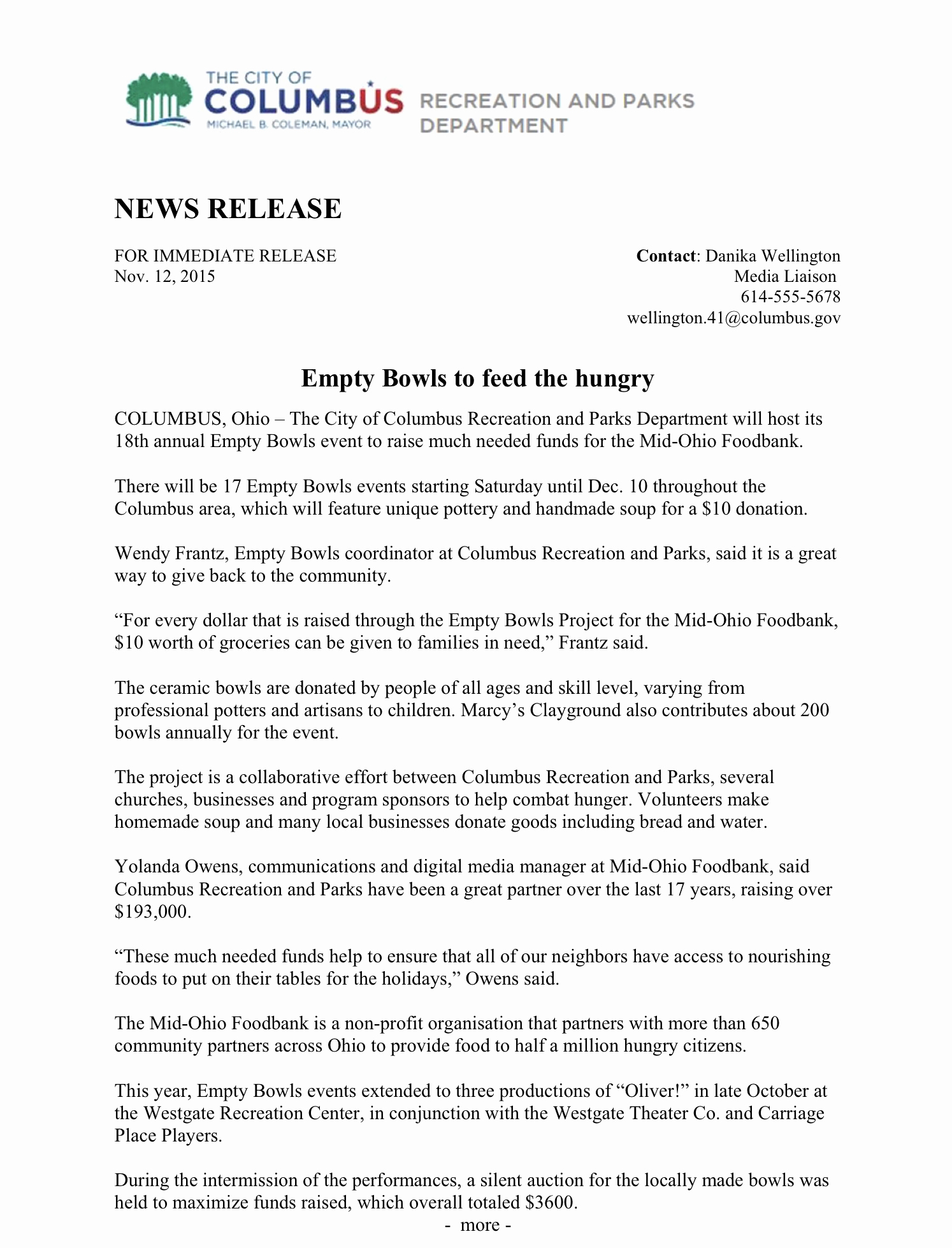 Sample Press Release Template Fresh Press Release Structure and format – Writing for Strategic