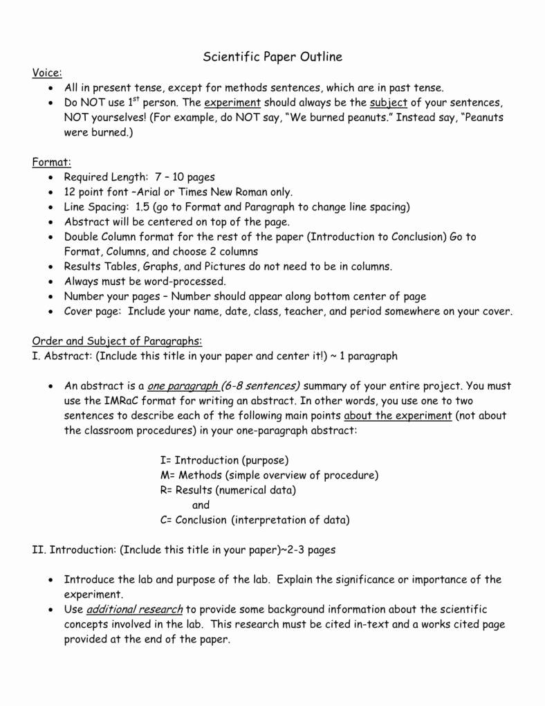 Sample Research Paper Outline Elegant Importance Of Having A Research Paper Outline Pdf