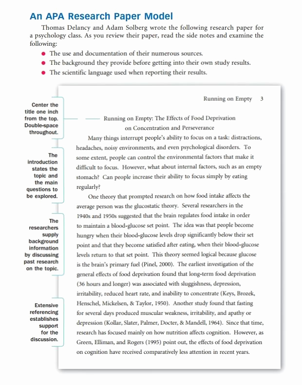 Sample Research Paper Outline Lovely How to Write A Research Paper Outline and Examples at