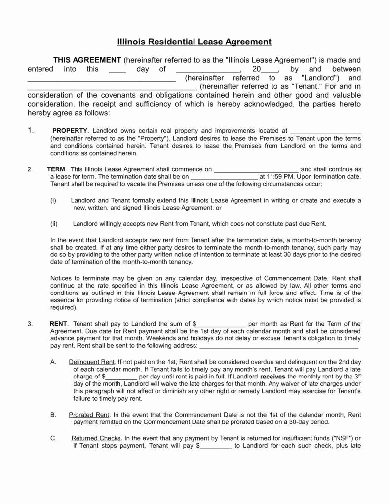 Sample Residential Lease Agreement Unique 8 House Rental Agreement Templates In Word