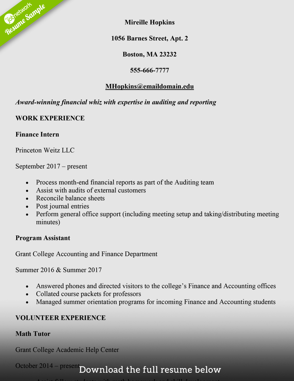 Sample Resume College Student Awesome How to Write A College Student Resume with Examples