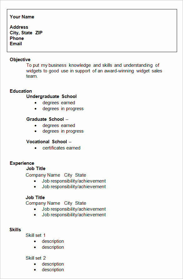 Sample Resume College Student Lovely 24 Best Student Sample Resume Templates Wisestep