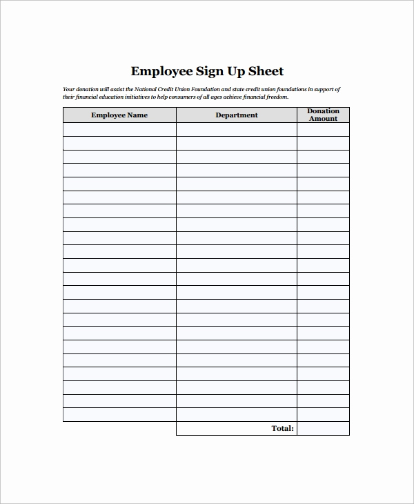 Sample Sign In Sheet Unique Sample Employee Sign In Sheet 15 Free Documents