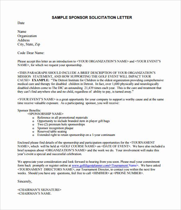 Sample Sponsorship Request Letter Lovely 45 Sponsorship Letter Templates Pdf Doc