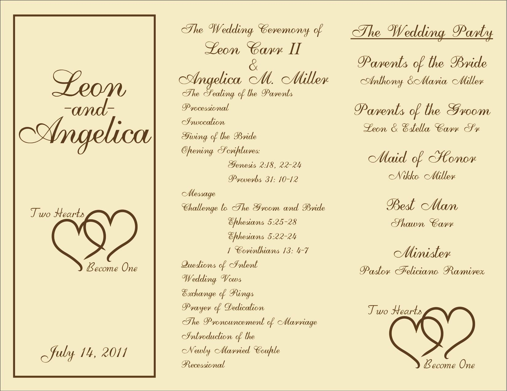 Sample Wedding Ceremony Program Inspirational Printable Wedding Programs On Pinterest