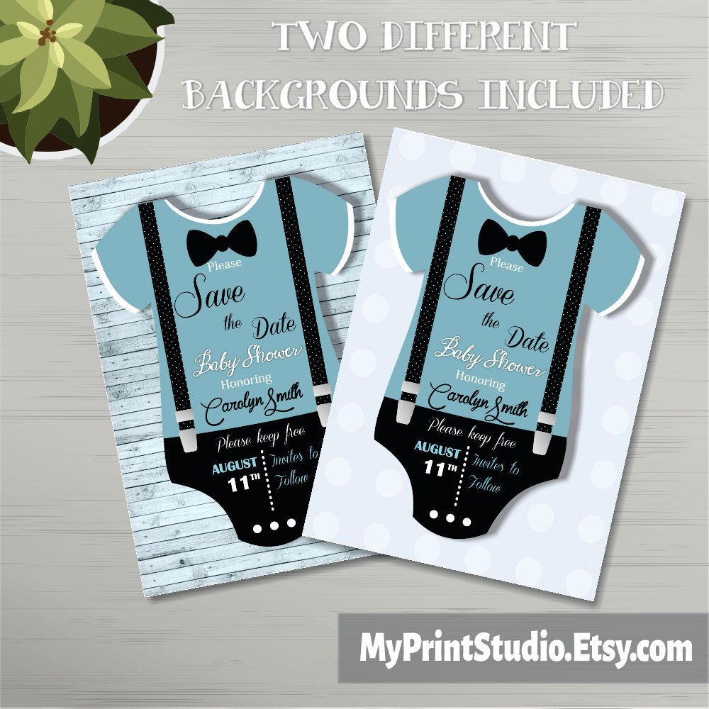 Save the Date Baby Shower Inspirational Save the Date Baby Boy Shower Card Template Creative Boy