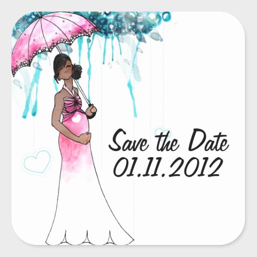 Save the Date Baby Shower Unique Baby Shower Save the Date Stickers