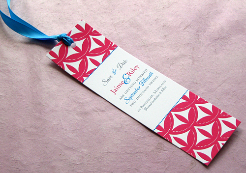 Save the Date Bookmarks Beautiful Sneak Peek Save the Date Bookmarks