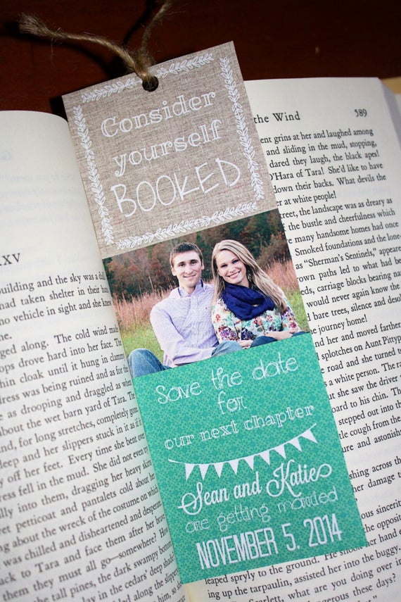 Save the Date Bookmarks Best Of Save the Date Bookmarks Any event Free Shipping Literary
