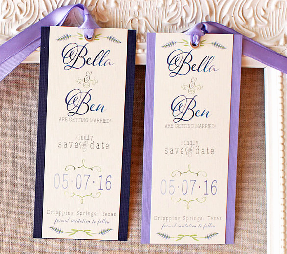 Save the Date Bookmarks Inspirational 21 Save the Date Bookmark Templates – Free Sample