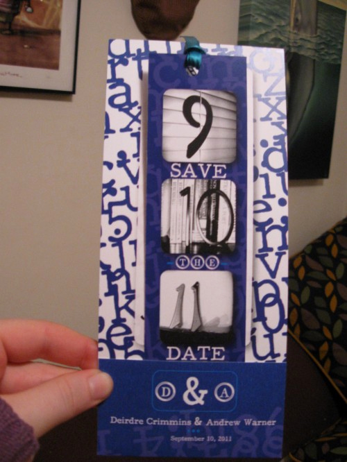Save the Date Bookmarks Lovely Save the Date Bookmarks Do More Than Just Help You Save