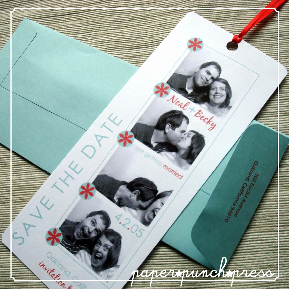 Save the Date Bookmarks Luxury Save the Date Bookmarks