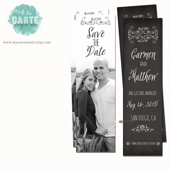 Save the Date Bookmarks New Items Similar to Save the Date Bookmark Whimsical