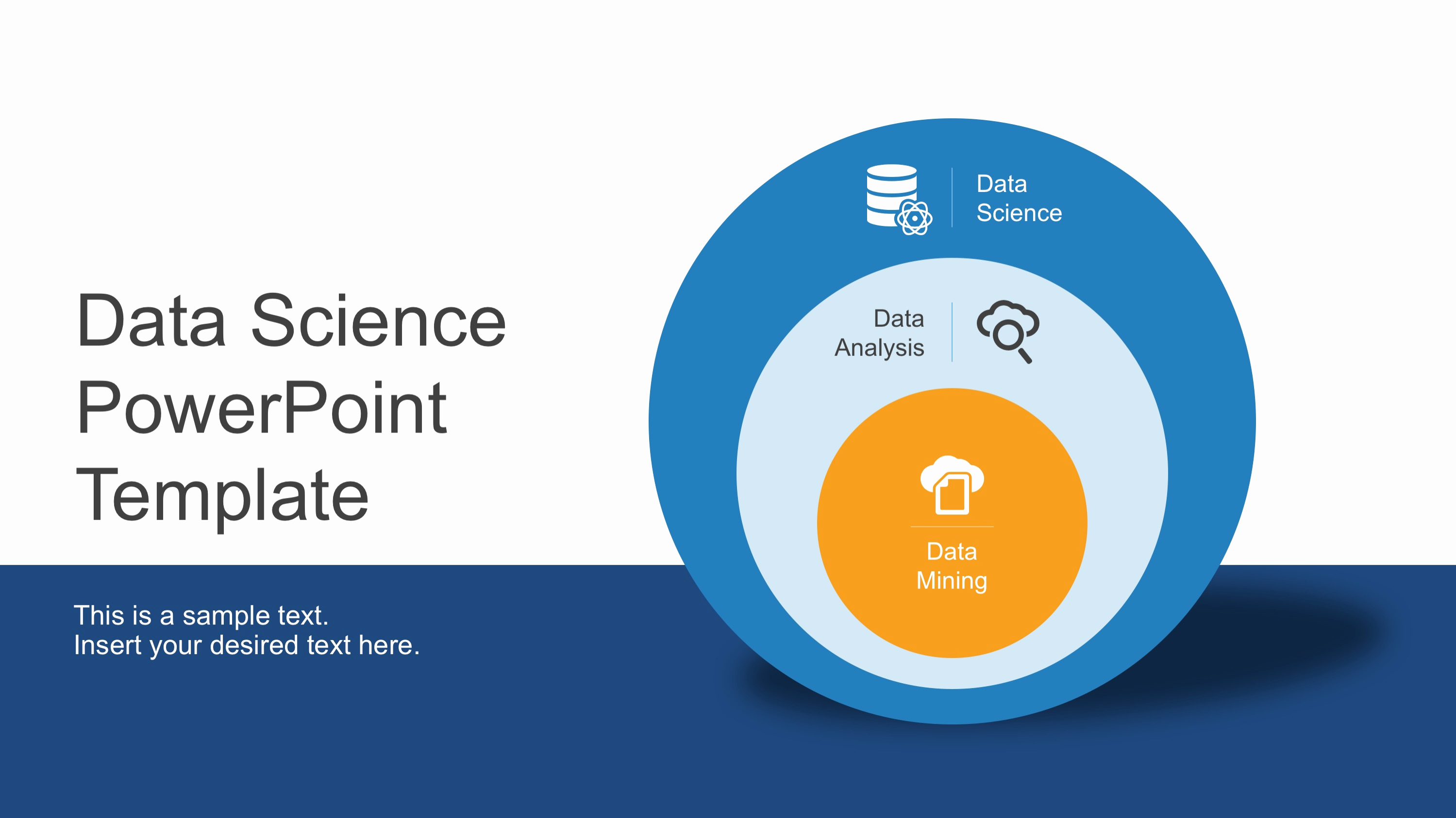 Science Power Point Template Inspirational Data Science Shapes Powerpoint Template Slidemodel