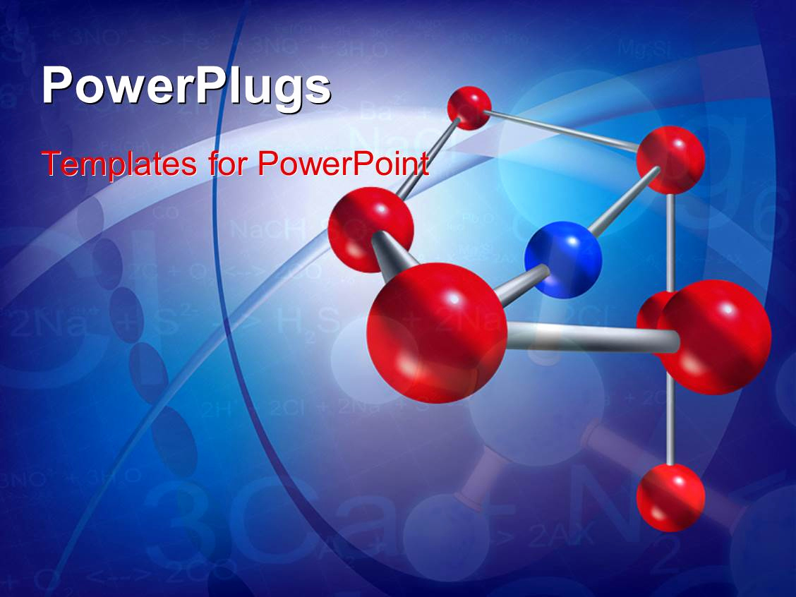 Science Power Point Template Lovely Powerpoint Template Abstract Scientific Background with