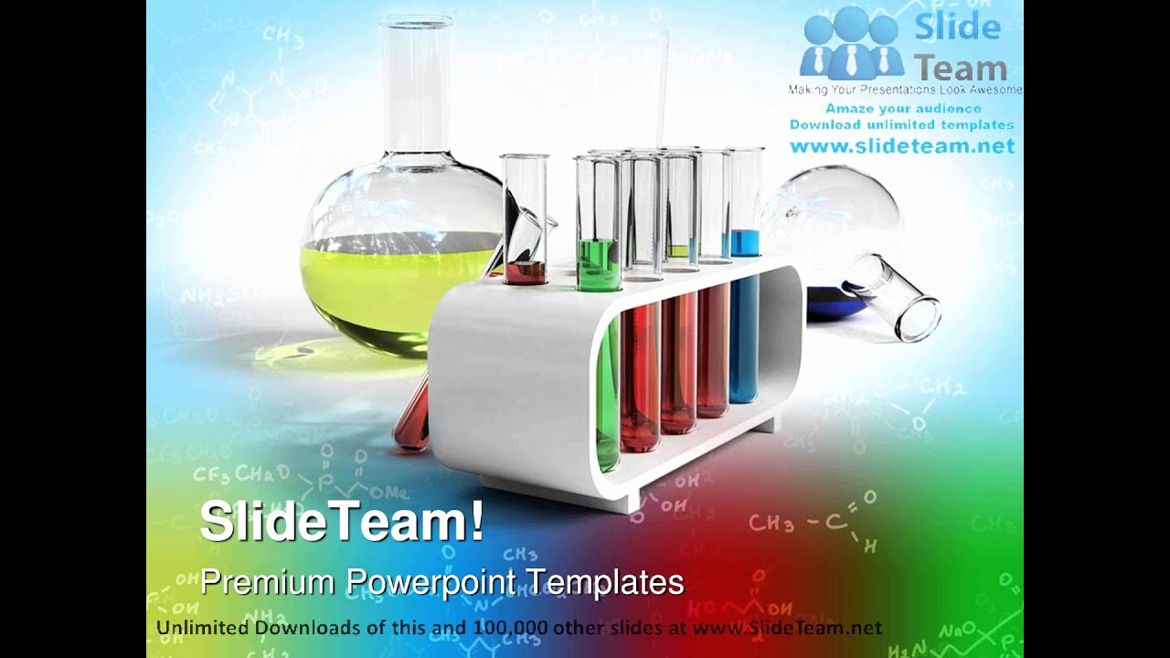 Science Power Point Template Luxury Flasks and Test Tubes Science Powerpoint Templates themes