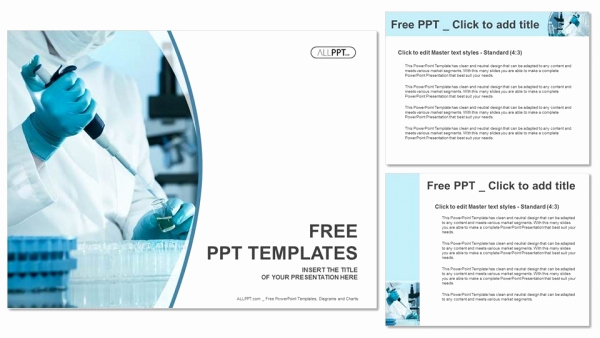 Science Power Point Template Unique Scientific Researcher In Medical Powerpoint Templates