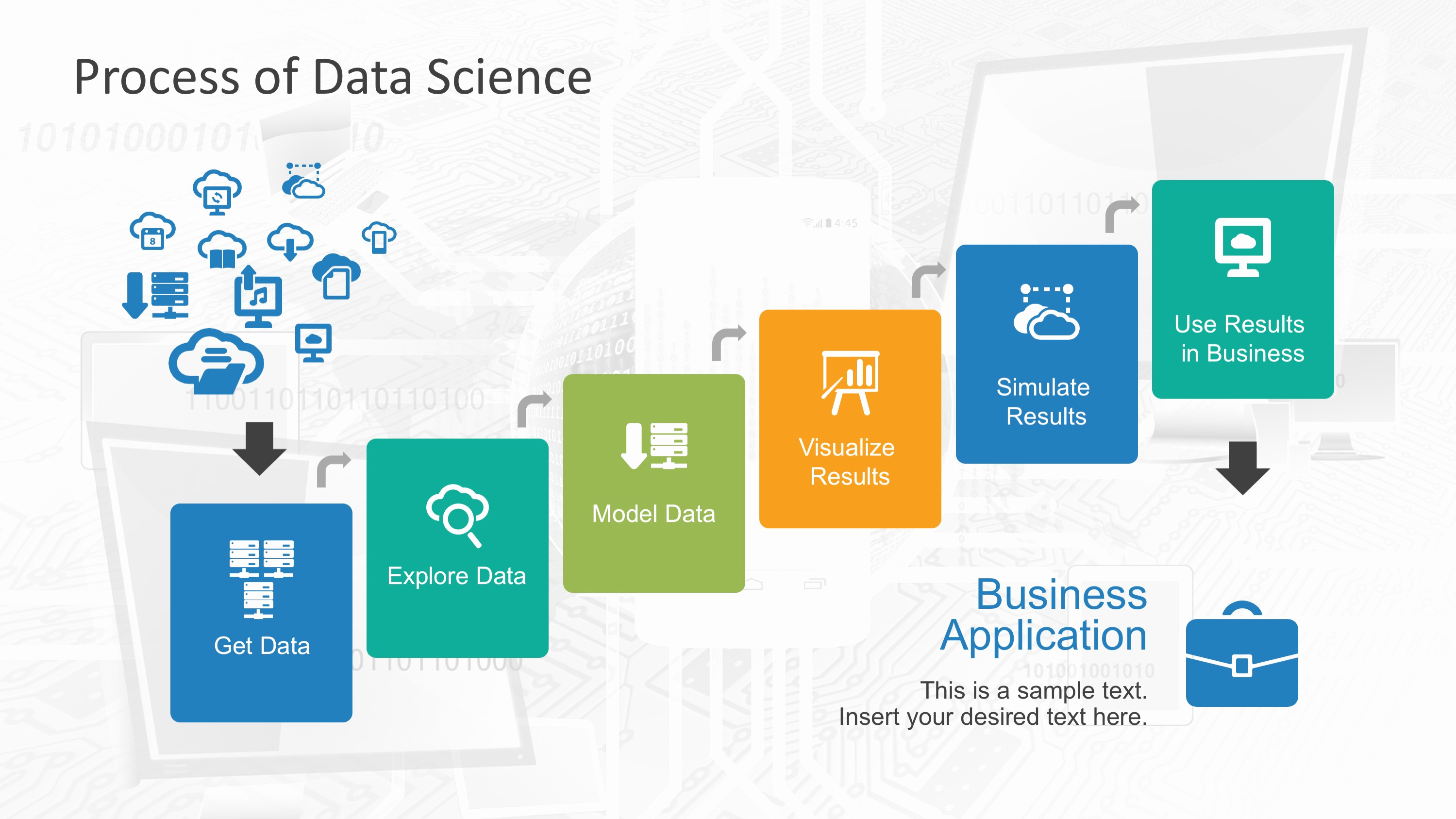 Science Power Point Templates Beautiful Data Science Shapes Powerpoint Template Slidemodel