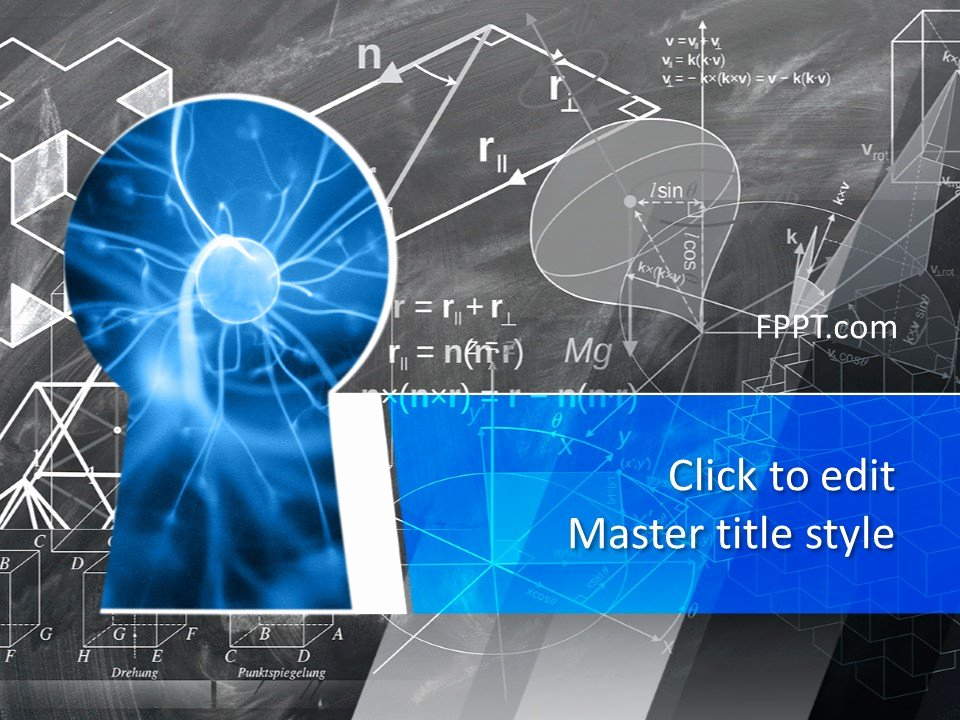 Science Power Point Templates Luxury Free Science Knowledge Powerpoint Template Free