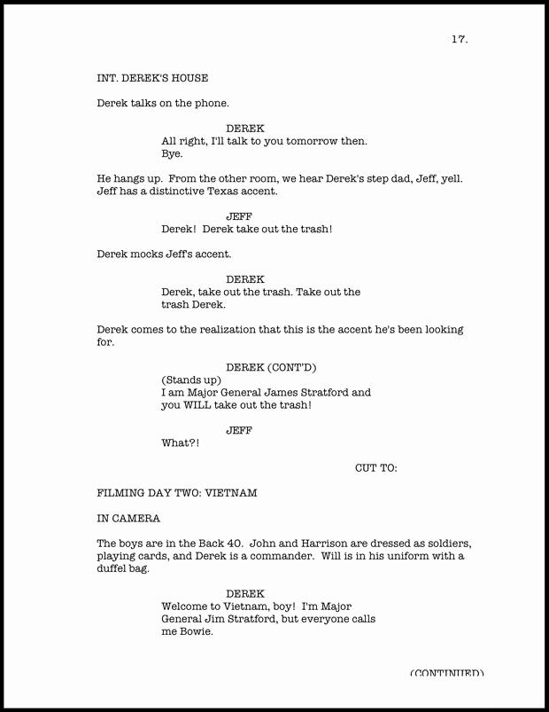 Script Writing format Pdf Fresh Take Five A Day Blog Archive Movie Award Season Pdf