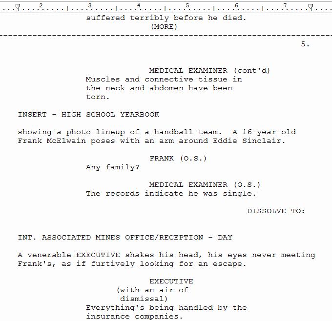 Script Writing format Pdf Inspirational Screenplay format Guide Margin Settings Story Sense
