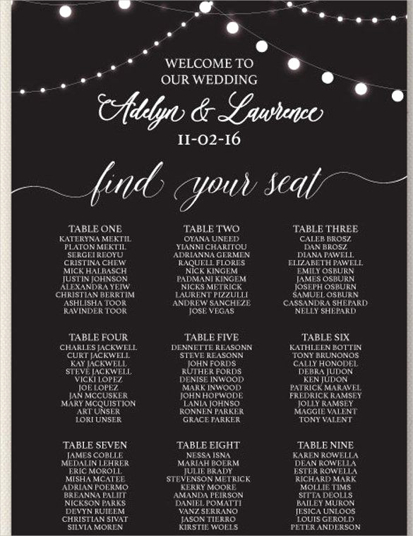 Seating Chart Template Wedding Elegant 25 Best Seating Chart Template Ideas On Pinterest