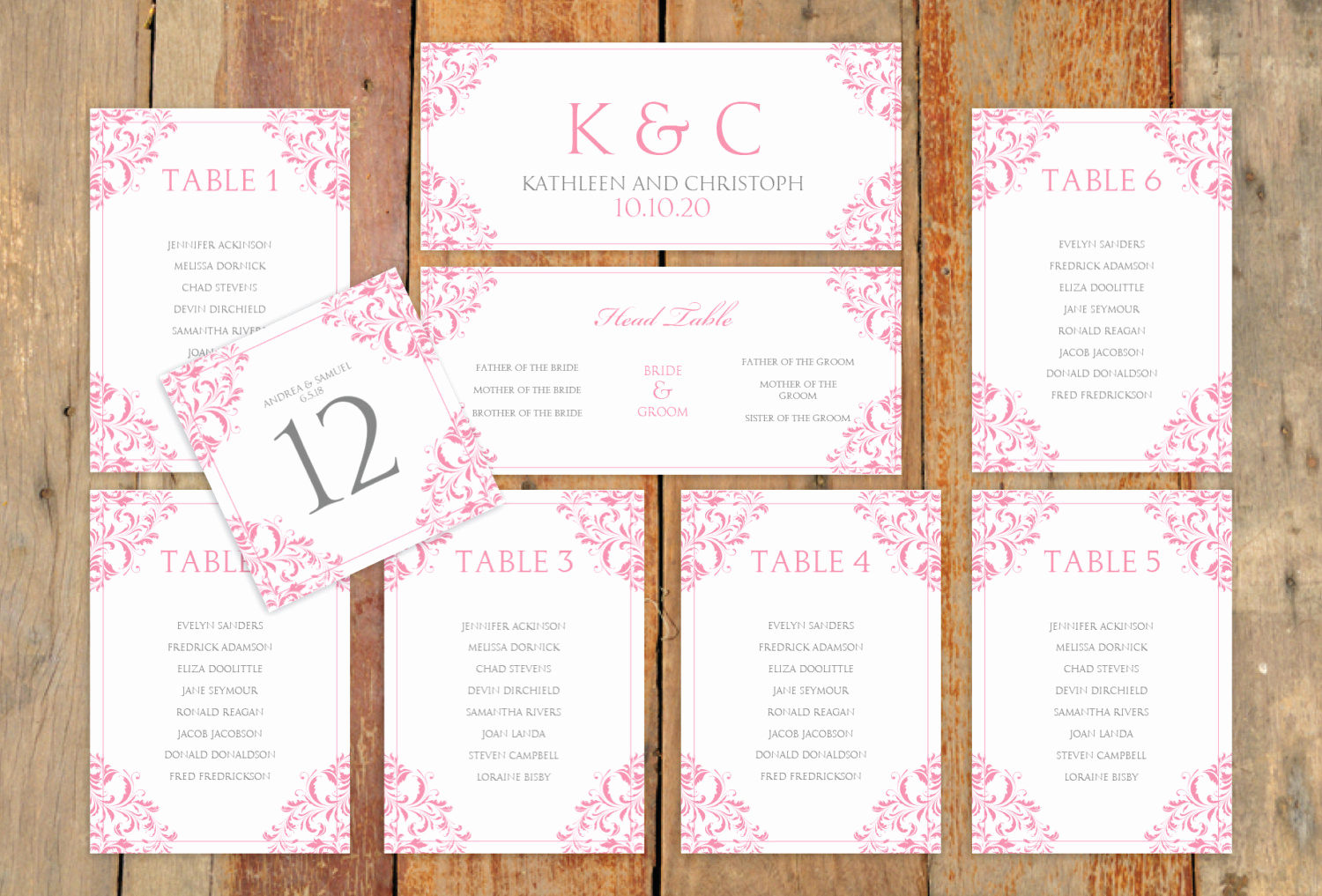 Seating Chart Template Wedding Luxury Wedding Seating Chart Template Download by Karmakweddings