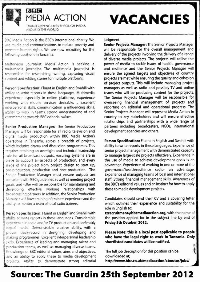 Senior Projects Manager Job Description Beautiful Multimedia Journalist Senior Product Manager & Senior