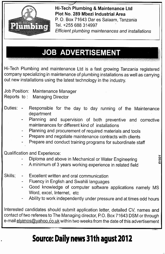 Senior Projects Manager Job Description Lovely Description Moneymate is A Specialist Provider Of