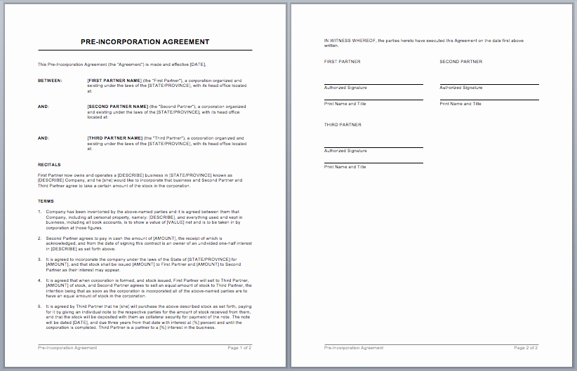 Service Contract Template Word Lovely Contract Templates – Microsoft Word Templates