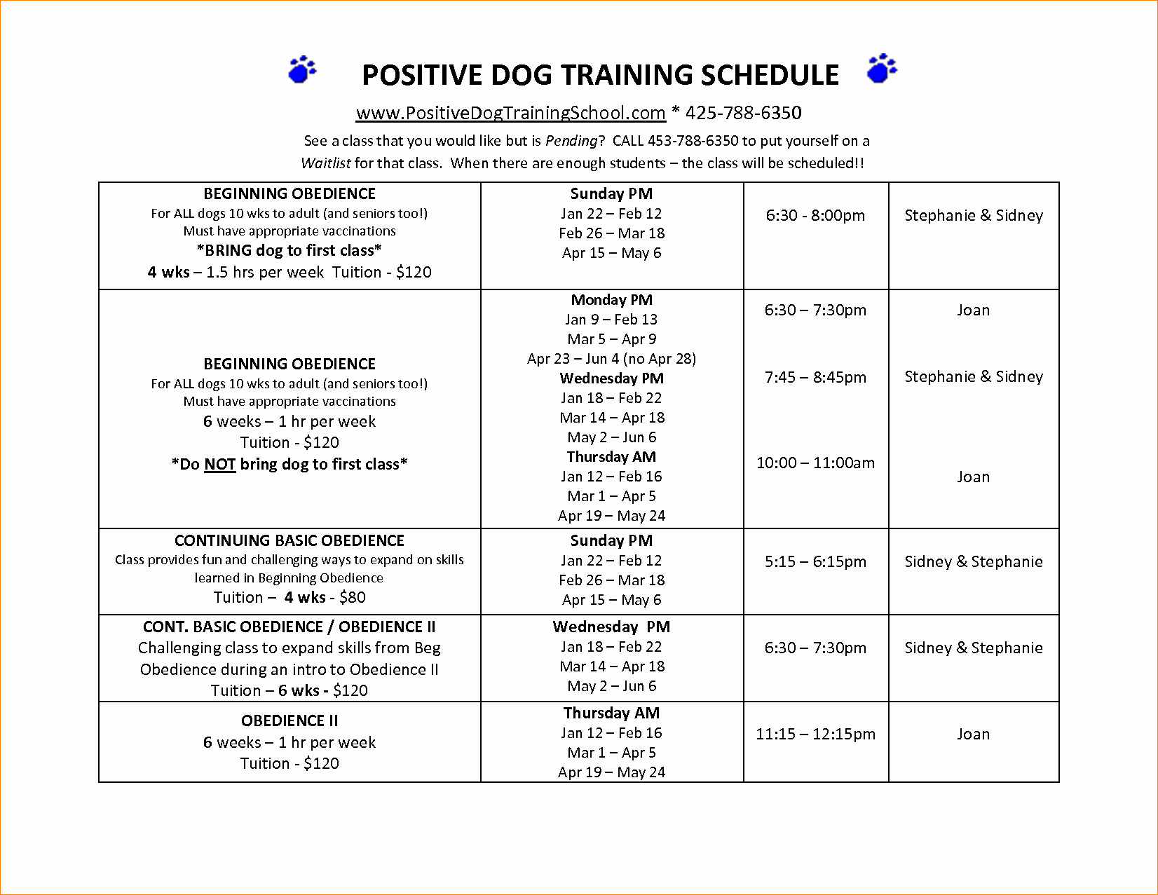 Service Dog Certificate Template Awesome 28 Of Obe Nce Training Plan Template