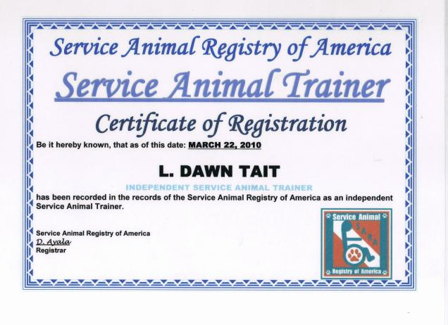 Service Dog Certificate Template Beautiful Service Dog Certificate Template